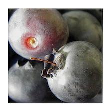 Bunch-a-blueberries Art Tile