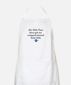 Wrapped Around Their Paws (Shih Tzu) BBQ Apron