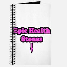 Epic Health Stones Journal