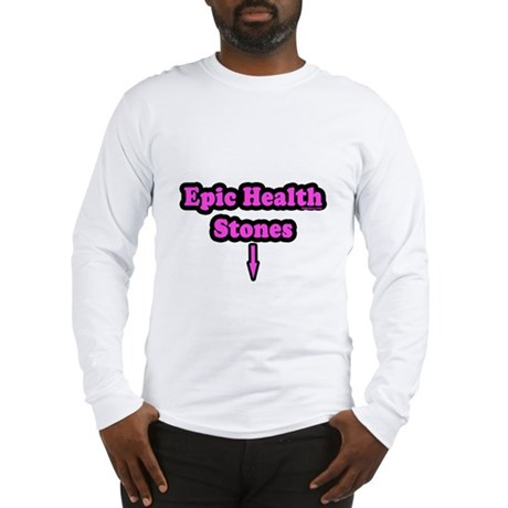 Epic Health Stones Long Sleeve T-Shirt