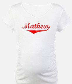 Mathew Vintage (Red) Shirt