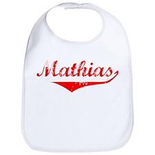 Mathias Vintage (Red) Bib