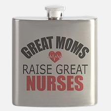 Moms Raise Nurses Flask
