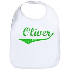Oliver Vintage (Green) Bib