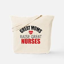 Moms Raise Nurses Tote Bag