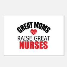 Moms Raise Nurses Postcards (Package of 8)