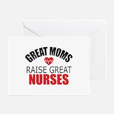 Moms Raise Nurses Greeting Cards (Pk of 20)