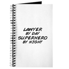 Lawyer Day Superhero Night Journal