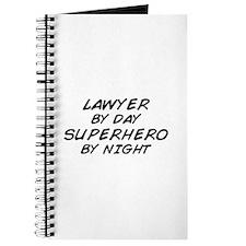 Lawyer Day Superhero Night Journal