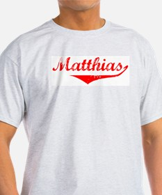 Matthias Vintage (Red) T-Shirt