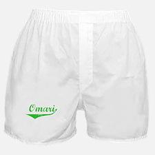 Omari Vintage (Green) Boxer Shorts