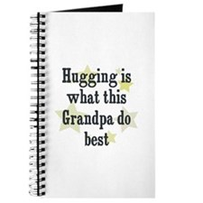 Hugging is what this Grandpa Journal