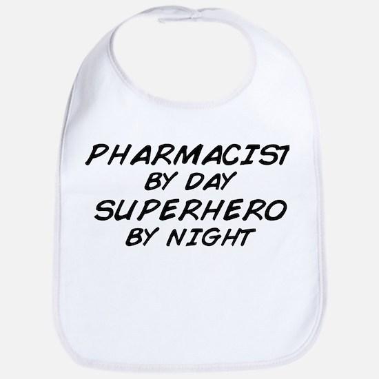 Pharmacist Day Superhero Night Bib