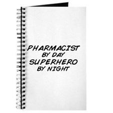 Pharmacist Day Superhero Night Journal