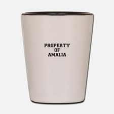 Property of AMALIA Shot Glass