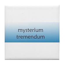 Mysterium Tremendum [Latin] Tile Coaster