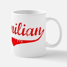 Maximilian Vintage (Red) Small Small Mug