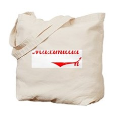Maximillian Vintage (Red) Tote Bag
