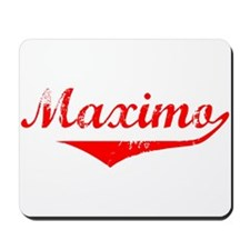 Maximo Vintage (Red) Mousepad