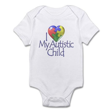 My Autistic Child Infant Bodysuit