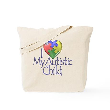 My Autistic Child Tote Bag