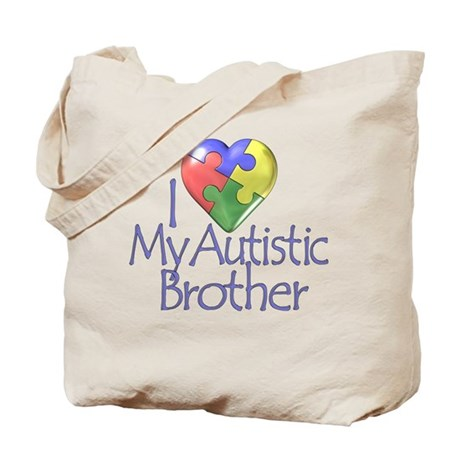 My Autistic Brother Tote Bag