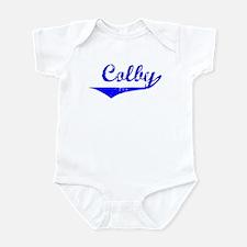 Colby Vintage (Blue) Infant Bodysuit
