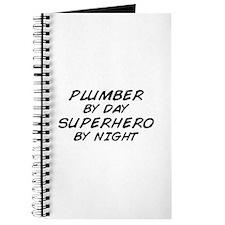 Plumber Day Superhero Night Journal