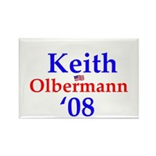 Keith olberman Rectangle Magnet
