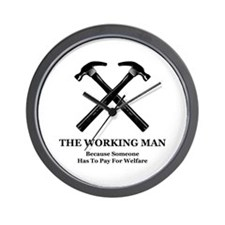 The Working Man Wall Clock
