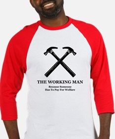 The Working Man Baseball Jersey