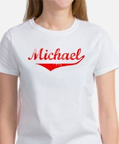 Michael Vintage (Red) Women's T-Shirt