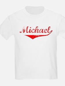 Michael Vintage (Red) T-Shirt