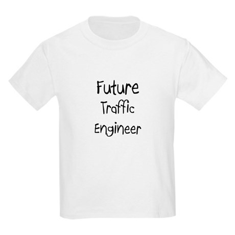 Future Traffic Engineer Kids Light T-Shirt