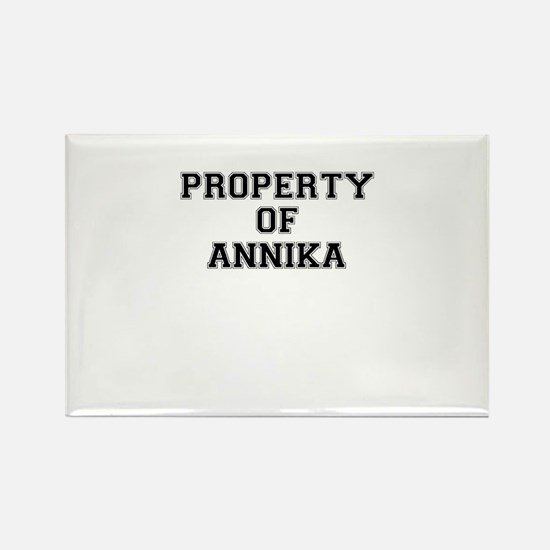 Property of ANNIKA Magnets