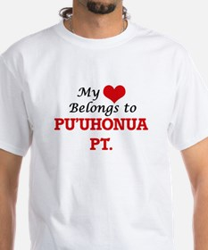 My Heart Belongs to Pu'Uhonua Pt. Hawaii T-Shirt