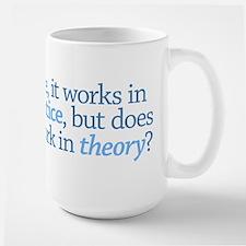 Practice & Theory Large Mug