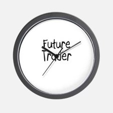 Future Trader Wall Clock