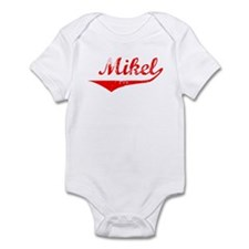 Mikel Vintage (Red) Infant Bodysuit