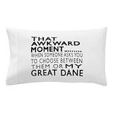 Great dane Pillow Cases