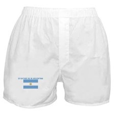 ID RATHER BE IN ARGENTINA Boxer Shorts