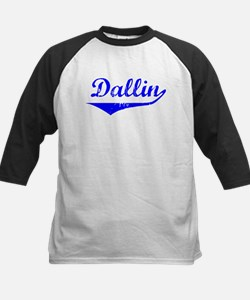 Dallin Vintage (Blue) Kids Baseball Jersey