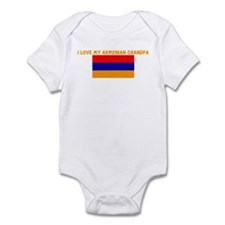 I LOVE MY ARMENIAN GRANDPA Infant Bodysuit