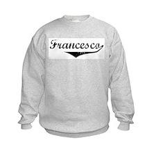 Francesco Vintage (Black) Sweatshirt