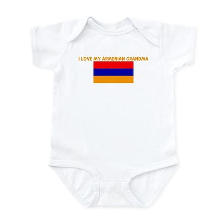 I LOVE MY ARMENIAN GRANDMA Infant Bodysuit