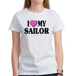 I love ( heart ) my sailor Women's T-Shirt