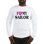 I love ( heart ) my sailor Long Sleeve T-Shirt
