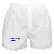 Damien Vintage (Blue) Boxer Shorts