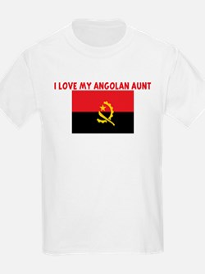 I LOVE MY ANGOLAN AUNT T-Shirt