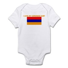 I LOVE MY ARMENIAN AUNT Infant Bodysuit
